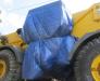 Rail transportation of construction equipment