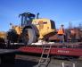 Der Schienentransport der Bergbauausrüstung