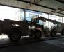 Die Beförderung der militärischen Güter in Afghanistan