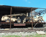 Der Schienentransport nach die Bahnhöfe von Hairatan und Turghundi in Afghanistan