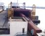 Ukraynanın İlichevsk limanindan feribota vagon yüklemeleri