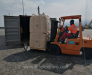 Maritime container transportation from the port of Alat Azerbaijan to the port of Turkmenbashi Turkmenistan