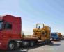 Transshipment of oversized construction equipment in the port of Turkmenbashi Turkmenistan