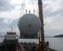 Tükiye'deki deniz limanlarında mal aktarılması