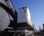Derince - Iliyçovsk feribot hattını kullanarak inşaat donatımının taşınması