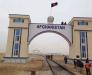 Le transport ferroviaire vers la station Aqina Afghanistan à travers le passage de la frontière Imamnazar Turkmenistan