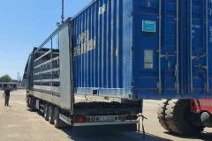 Transshipment of goods in the port of Poti and Batumi Georgia