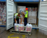 Der Transport von Containern nach die Türkei