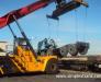 Rail transportation of the oversized equipment to Mongolia