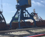Railway transportation of grain through the port of Poti Georgia