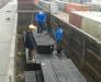 Cargo reloading in the station of Sarakhs Turkmenistan