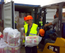 Transbordare manuala a incarcaturilor in portul Odessa Ucraina