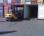 Transport de marchandises dans les ports d'Ukraine