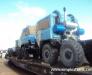 Transport feroviar de vehicule, excavatoare, macarale, buldozere din Europa către Mongolia