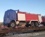Transport feroviar de mașini de pompieri