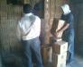 Transports de cargaisons à travers la station de Sarahs Turkménistan