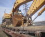 Transbordement d'équipement pour constructions à des wagons