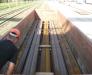 Cargo reloading at the rail station of Brest Belarus