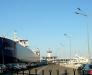 Ferry lines in the Caspian Sea