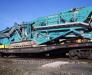 Transportul feroviar de instalații de foraj, concasoare, echipamente de screening