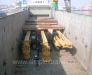 Încărcarea și fixarea instalatiilor de foraj pe vagoane de cale ferată