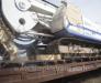 Transport feroviar de instalații de foraj și concasoare