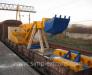 Transport de excavatoare din Germania, Polonia, Belgia, Olanda, Romania, Polonia, Italia, Franta in tarile CSI